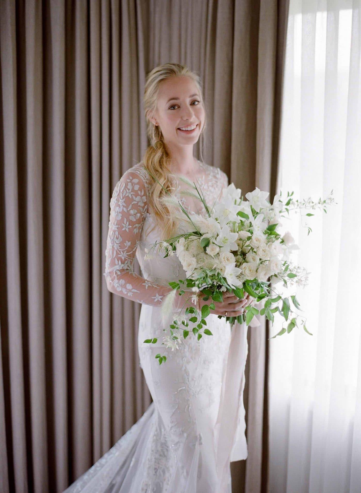 garland ceremony wedding ideas | sarahwinward.com