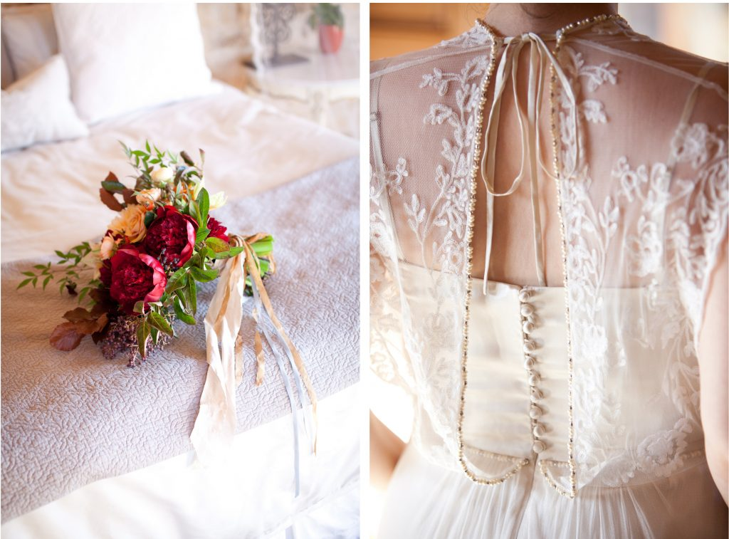N & C wedding, sarah winward florals