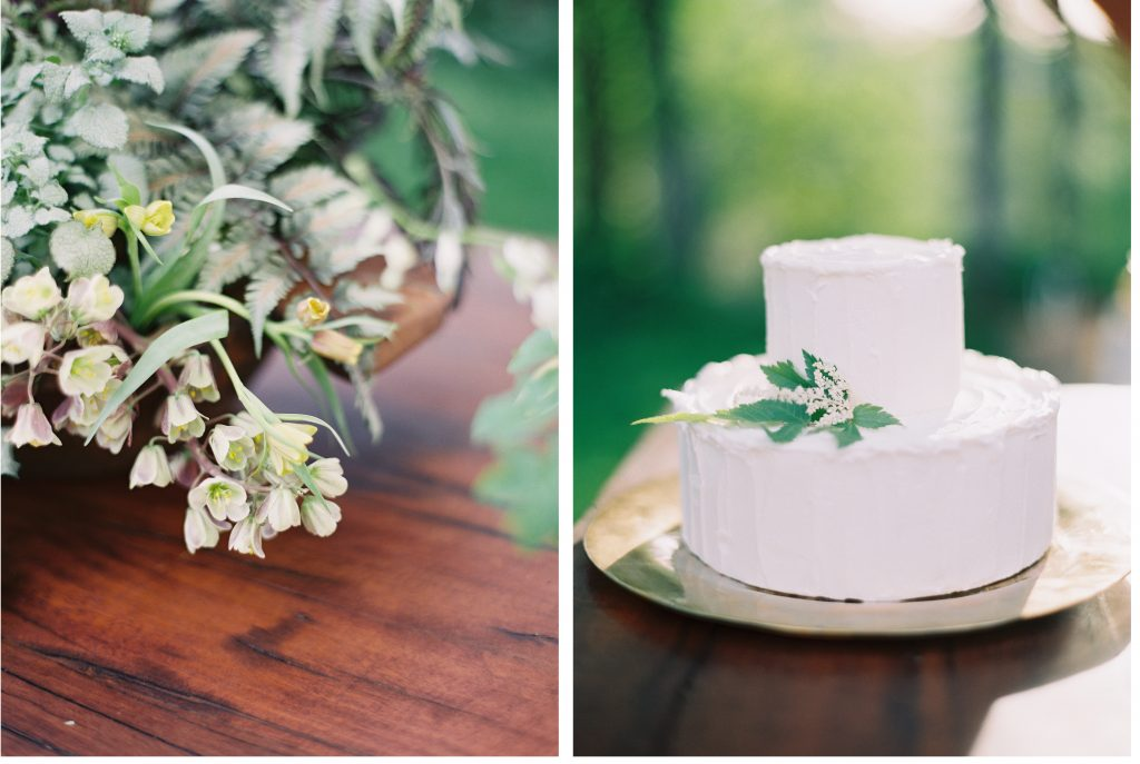 photo by rylee hitchner cake by eat noisette, floral by sarah winward