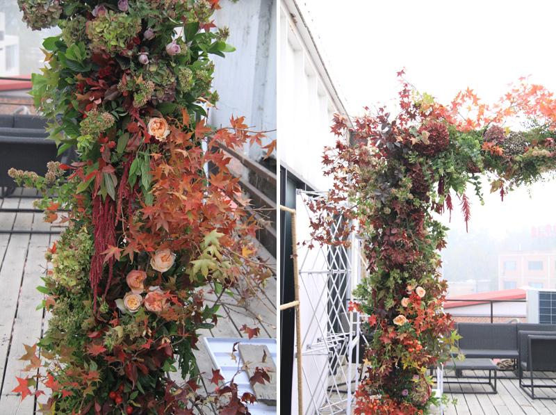 fall-ceremony-arbor-ideas