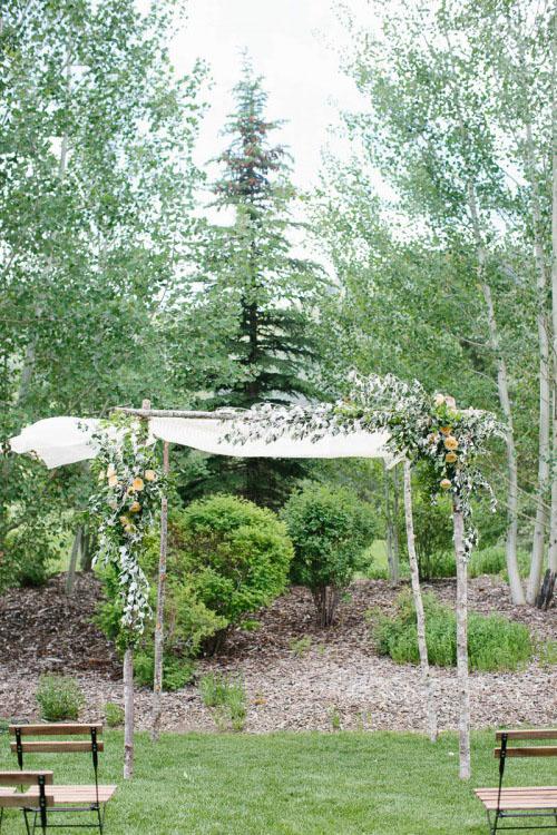 simple-birch-ceremony-arbor-ideas