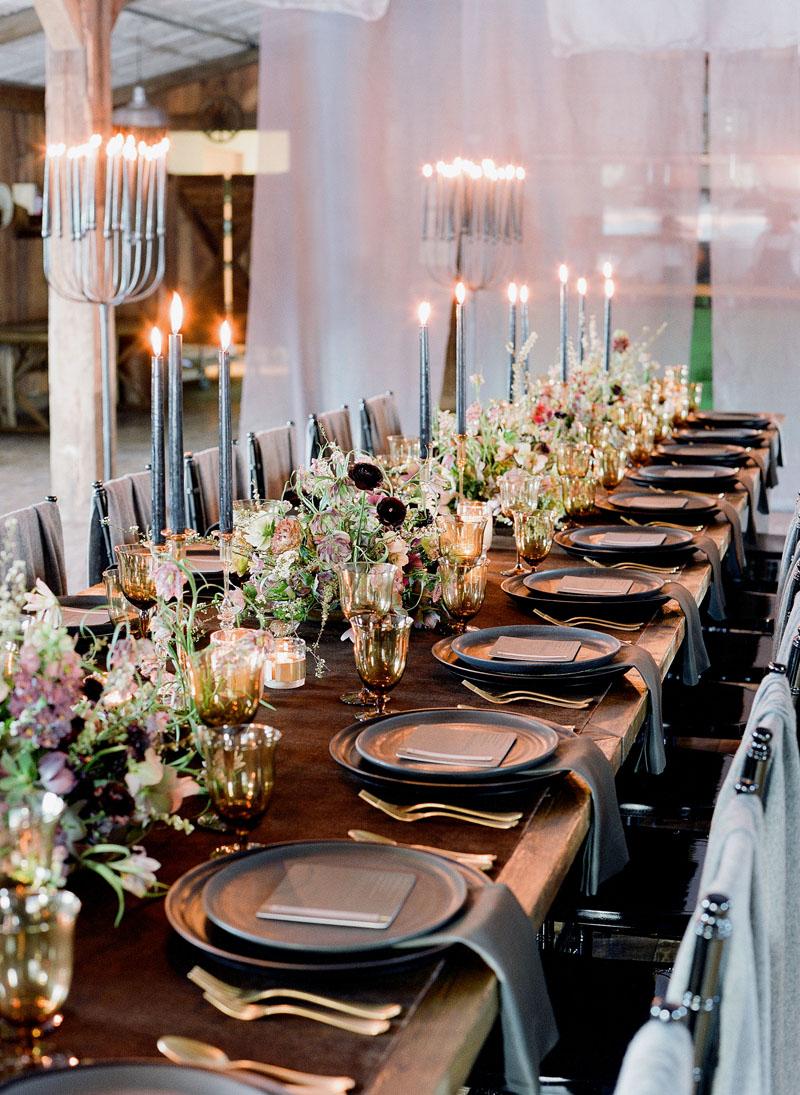 sarahwinward.com | Photo: Jose Villa | Laurie Arons Master Class | Winter Wedding Ideas