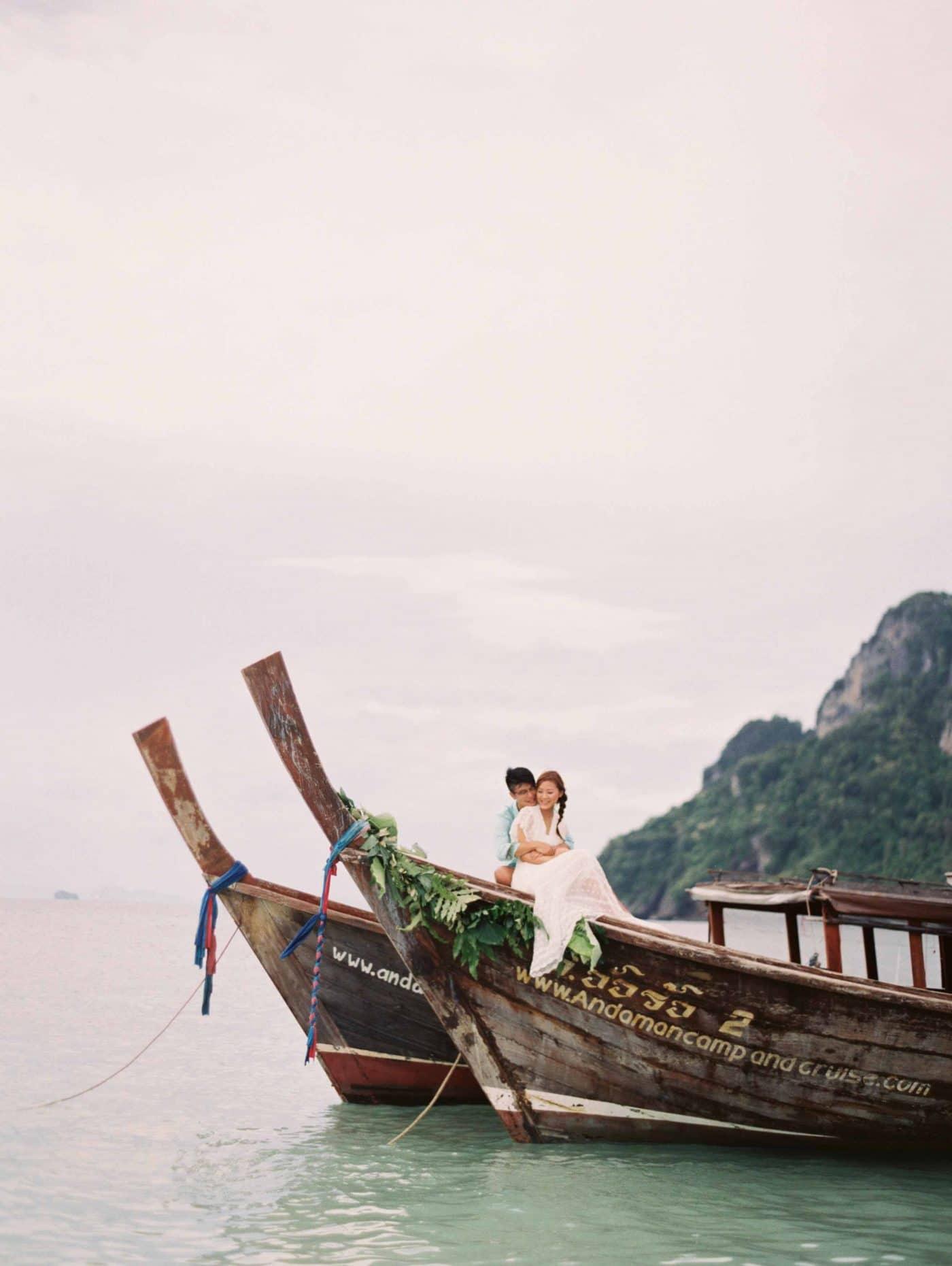 phranang beach thailand real wedding | sarahwinward.com