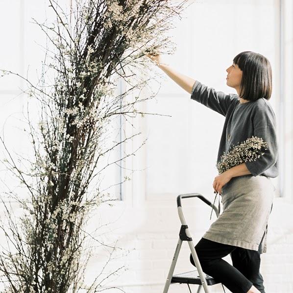 floral installation | sarahwinard.com