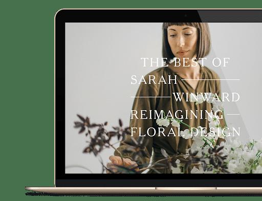floral design online | sarahwinward.com