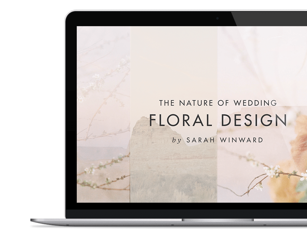 wedding floral design | sarahwinward.com